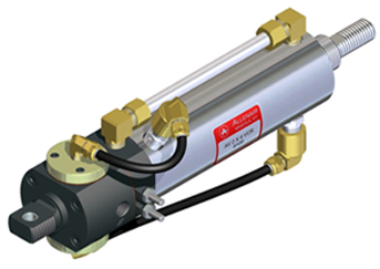 self reciprocating pneumatic cylinder
